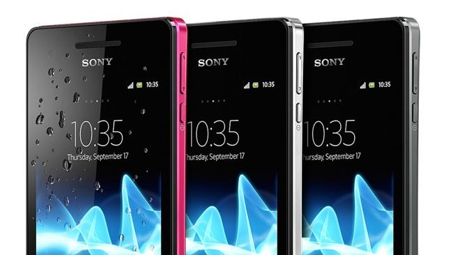 Sony Xperia V - resistente al agua