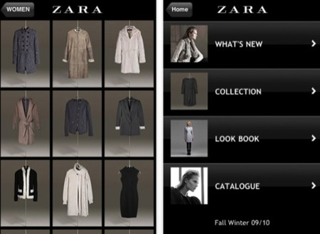 Zara en iPhone
