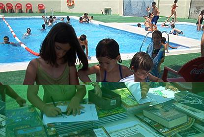Bibliopiscinas, combinando la diversión del agua con la lectura