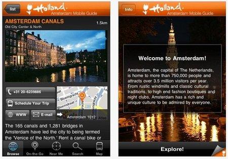 Aplicaciones viajeras para el iPhone: guía de Amsterdam