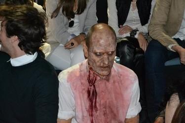 El zombie de la Cibeles Madrid Fashion Week