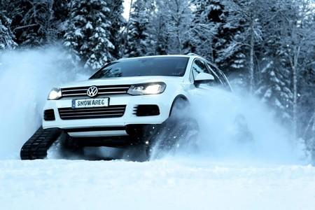 Volkswagen Snowareg, no hay camino que se le resista
