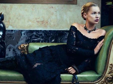 Kate Moss, la musa de los diseñadores