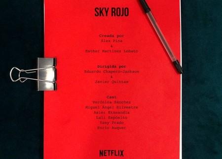 Netflix anuncia que comienza el rodaje de 'Sky Rojo', la nueva serie del creador de 'La casa de papel'