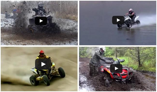 Cinco vídeos de quads te van a dejar con ganas de campo