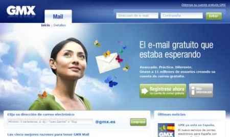 GMX.es, GMX entra en España