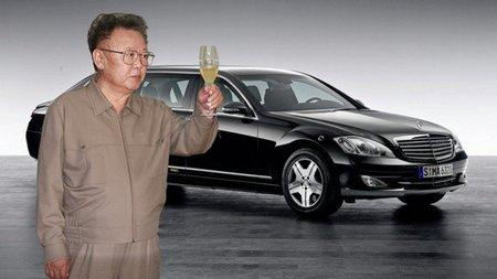 Los Mercedes de Kim Jong-Il, pasión por la tradición familiar