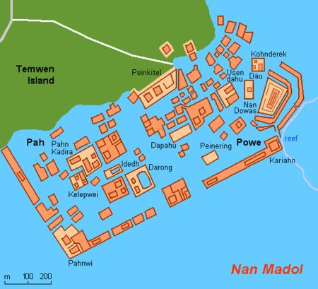 Map Fm Nan Madol