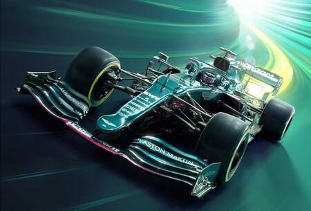 Aston Martin mezcla el verde con el rosa para su regreso a la Fórmula 1 de la mano de Sebastian Vettel