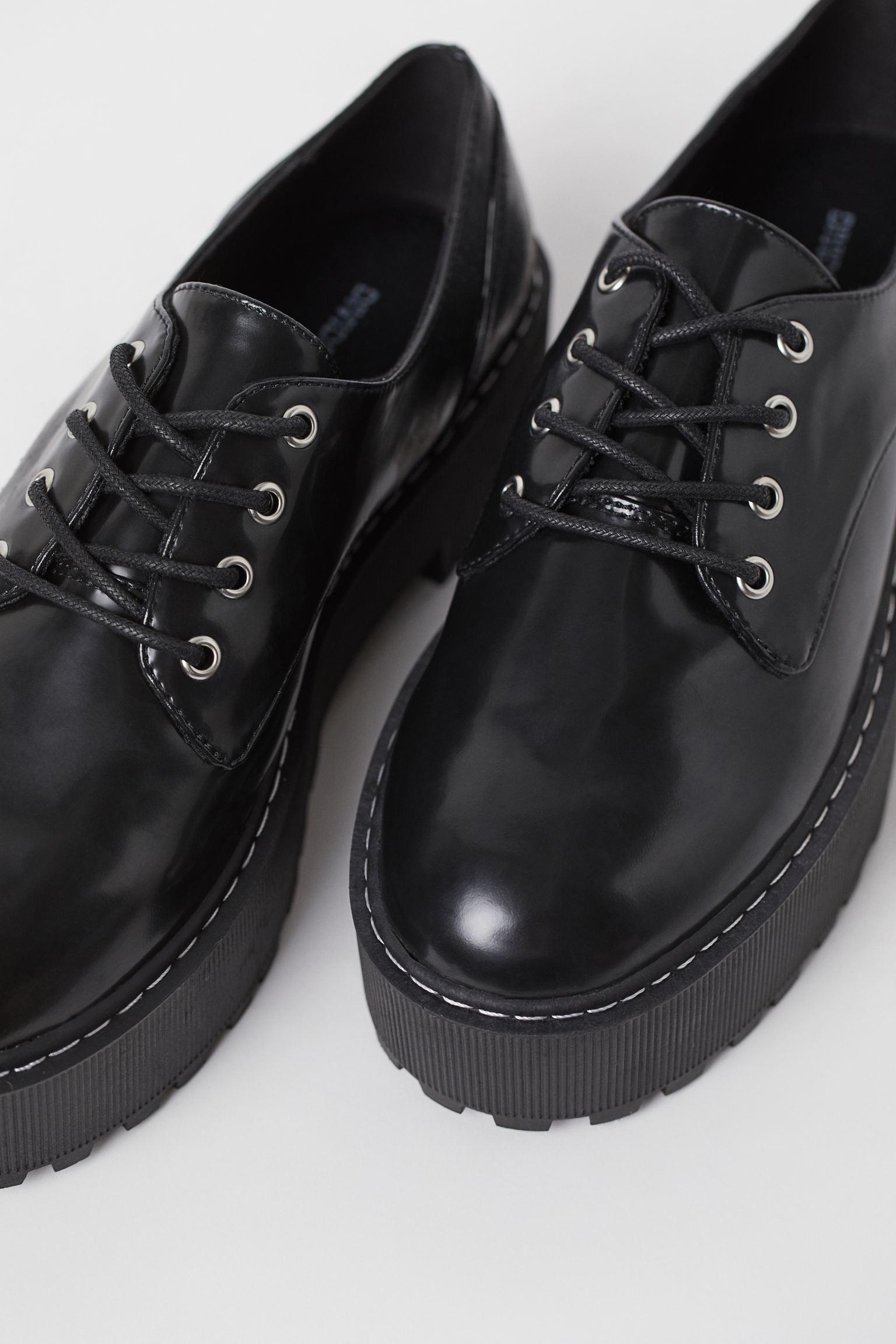 Zapatos con plataforma creeper