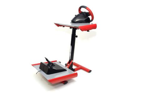 SpeedBlack 2.0, soporte para volante y pedales