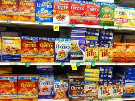 Cheerios Wall