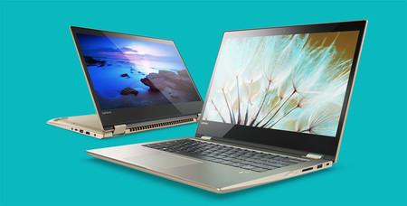 Lenovo Yoga 720: pantalla 4K, los últimos Core i7 y la GTX 1050 para un convertible con lector de huellas