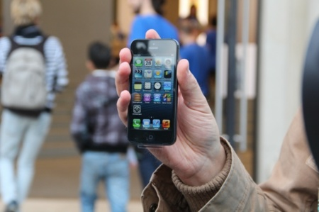 lanzamiento iPhone 5 Apple Store Barcelona Paseo de Gracia