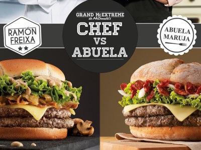 Una abuela española crea la nueva hamburguesa gourmet del McDonald´s