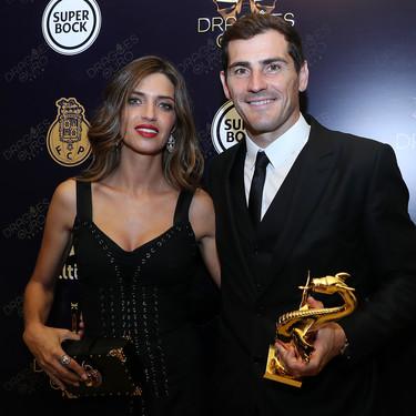 Sara Carbonero apuesta por un total look de Dolce & Gabbana para la Gala Dragón de Oro