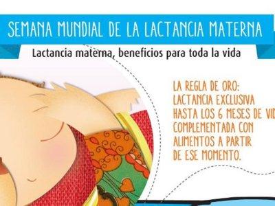 Semana Mundial de la Lactancia Materna: no olvides sus beneficios