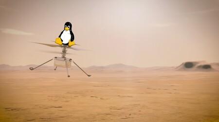 2021 es el año de Linux en Marte gracias a ir como sistema operativo del helicóptero que acompaña al rover Perseverance