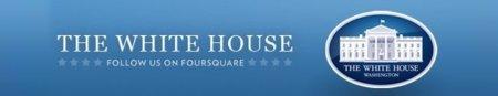 """Barack Obama ya hace """"check-in"""" en Foursquare"""