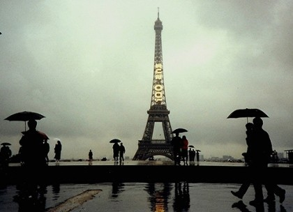 Paris in the Rain de kla4067
