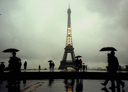 Paris in the Rain de kla4067