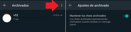 Whatsapp Chats Archivados Esconder Chats