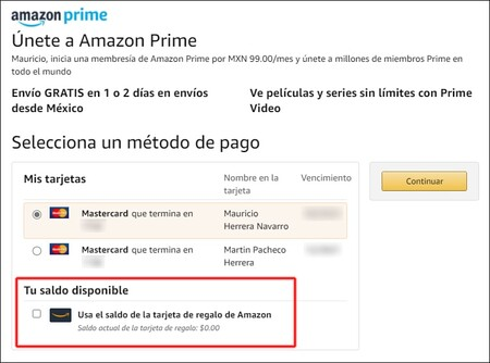 Pagar Amazon sin tarjeta de crédito o débito