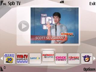 Spb TV, televisión por Internet en el móvil