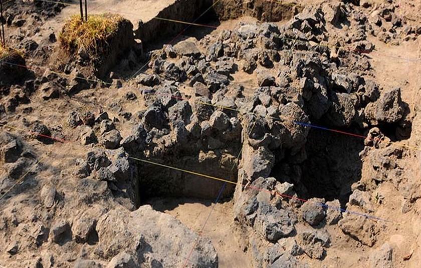 Descubren el tecpan del Coyoacán prehispánico en el lugar donde se construirá la nueva sede de la Academia Mexicana de la Lengua