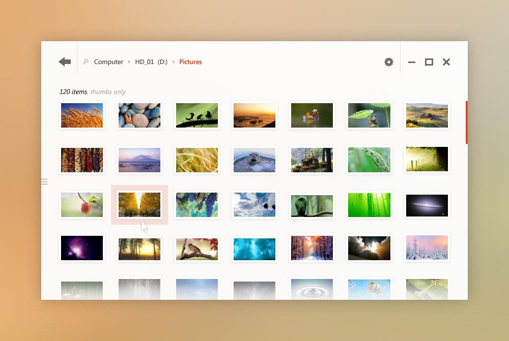 Foto de Concepto de interfaz para Windows 8 (3/12)