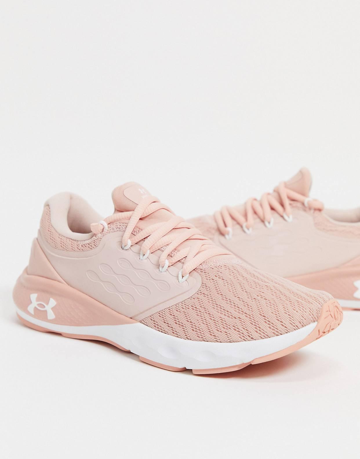 Zapatillas de deporte rosas Charged Vantage de Under Armour Running