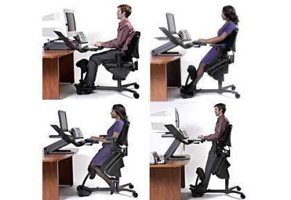 Silla ergon mica varias posiciones for Silla escritorio ergonomica