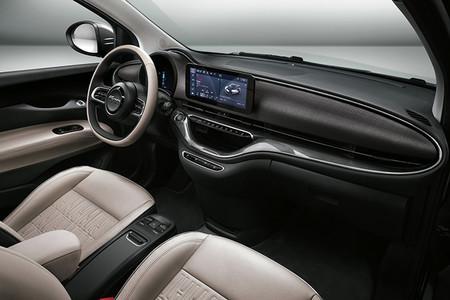 Fiat 500e Interior Coche Electrico