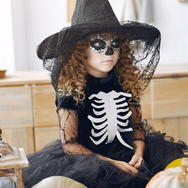 15 maquillajes de Halloween para niños, fáciles y terroríficos