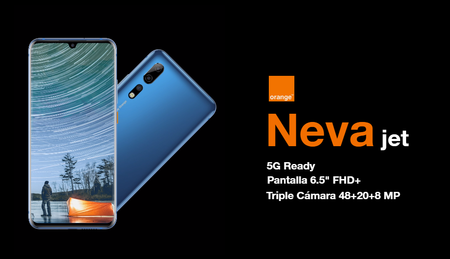 Orange abre las puertas al 5G NSA con un futuro smartphone Orange Neva Jet