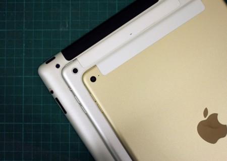 La evolución del iPad, de 2010 a 2015