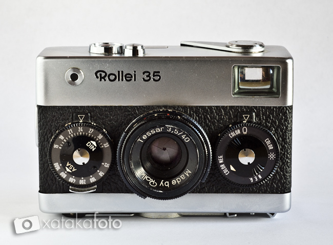 rollei 35 frontal