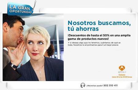 Antena 3 estrena La Gran Oportunidad, un programa anticrisis