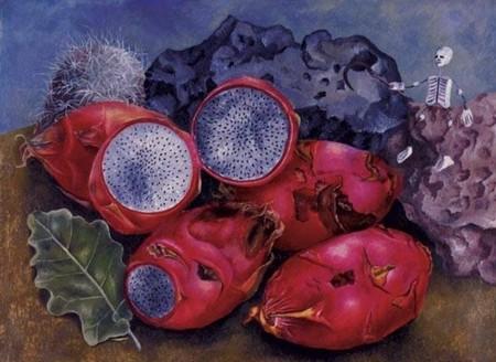 Pinturas Frida Kahlo Inspiradas Comida Frases Mas Inspiradoras Pitayas