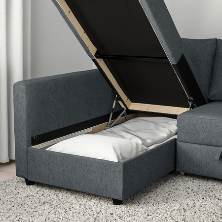 Sofá cama con almacenaje Ikea