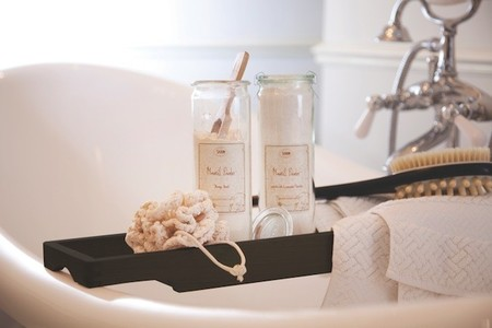 Un baño completo se logra con los productos de Sabon