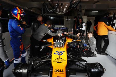 Carlos Sainz Test F1