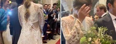 El vestido de novia, los zapatos, las joyas y el ramo que ha elegido María Pombo para su boda