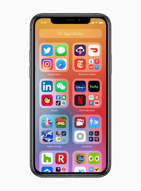 Apple Ios14 App Library Screen 06222020