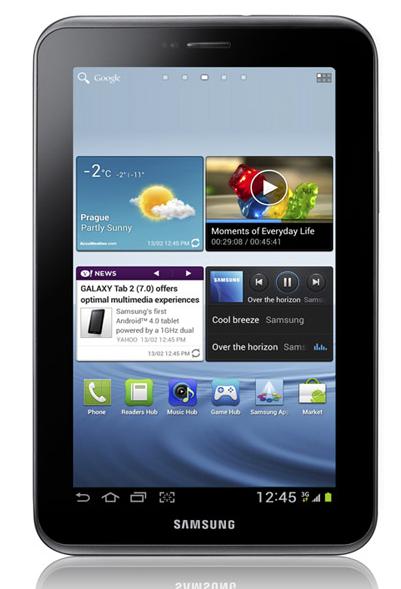 Así es el Galaxy Tab 2 que vendrá con Ice Cream Sandwich