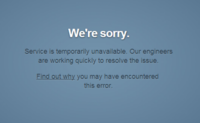Tumblr, fuera por poco más de 3 horas