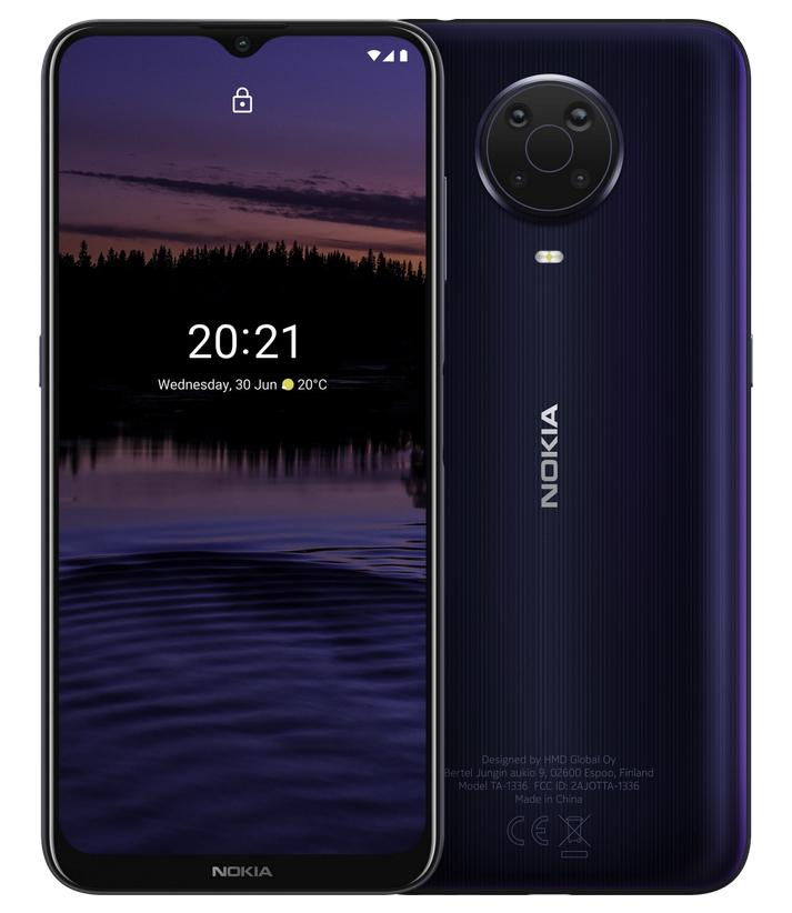Nokia G20 Noche, 4 GB de RAM, 64 GB Almacenamiento externo