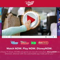 DisneyNow es el nombre de la app para acceder de forma unificada al contenido en streaming de Disney