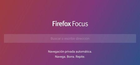 Probamos Firefox Focus, el nuevo navegador ligero que bloquea publicidad y protege tu privacidad