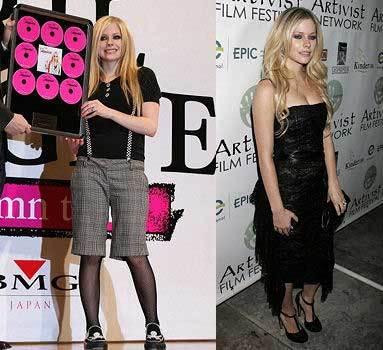 Avril Lavigne diseñará una línea de ropa